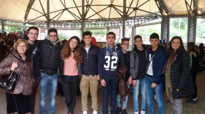 Foto di gruppo: squadra di Lentini e squadra di Francofonte
