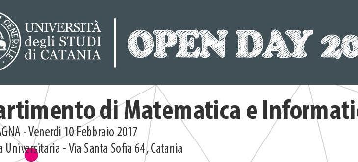Unict Open Day – DMI
